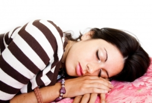Sleeping Woman - Migraine Blog