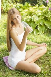 Migraine Water Bootle Plastic